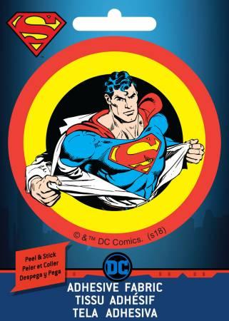 DC Comics - Superman Shirt - Adhesive Fabric 3in Badge