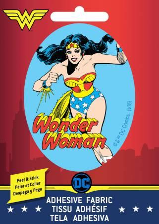 DC Comics - Wonder Woman - Adhesive Fabric 3in Badge