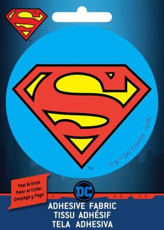 DC Comics - Superman Shield - Adhesive Fabric 3in Badge