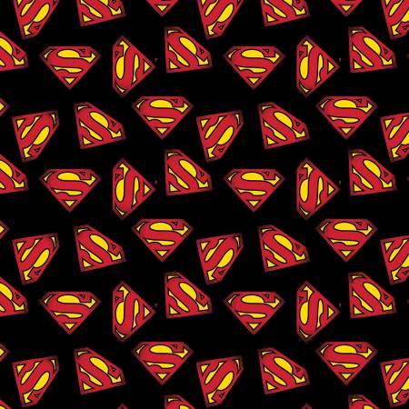 Black Superman Logo (F10773)