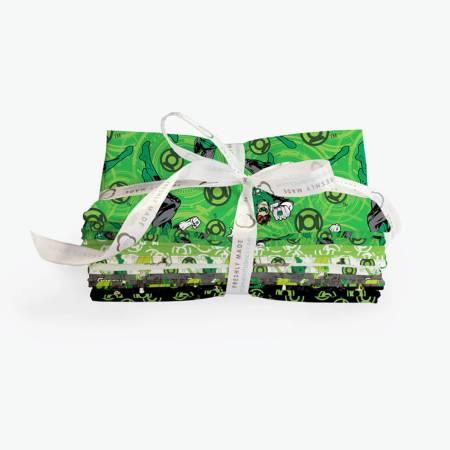 **Fat Quarter Green Lantern, 6pcs/bundle