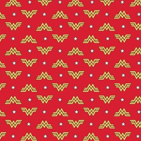 Wonder Woman 1984 Red Logo & Stars