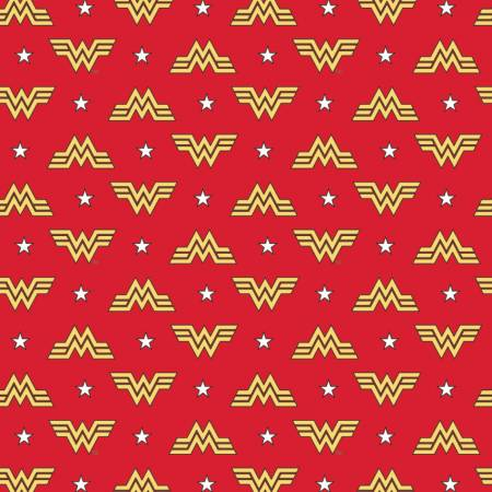 Camelot Wonder Woman 1984 Logo & Stars Flannel