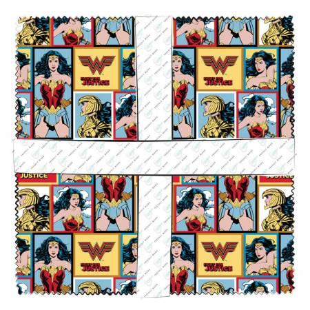 Wonder Woman - 10 Squares - 42pieces