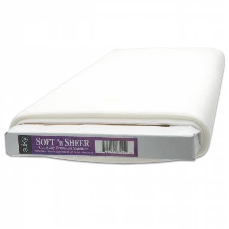 Cut-Away Soft N Sheer Stabilizer White