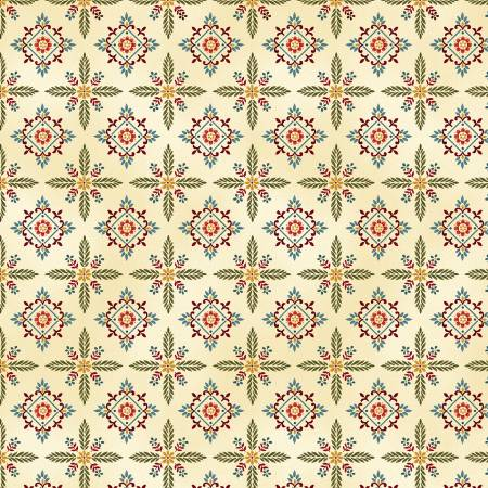 Count Your Blessings Cream Foulard Hexes