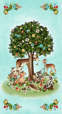 Banner Tree Panel 24in