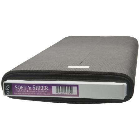 Cut Away Soft N Sheer Stabilizer Black