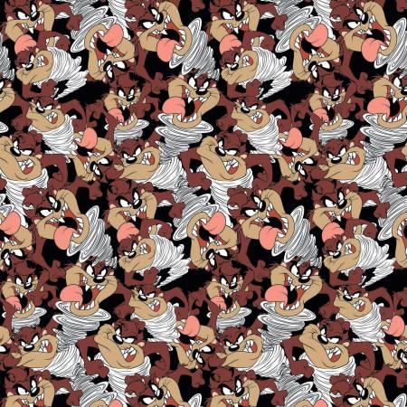 Black Looney Tunes Tazmanian Devil Expressions