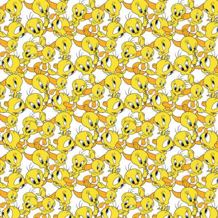 White Looney Tunes Tweety Expressions