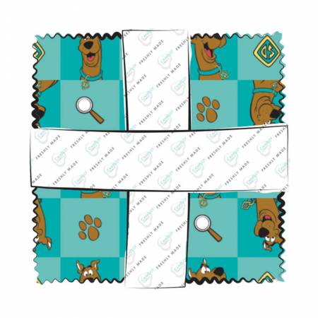 23700315CHA 5in Squares Scooby Doo, 42pcs/bundle