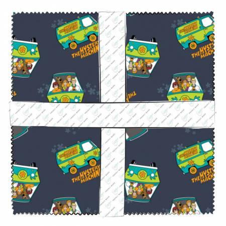 23700315 10in Squares Scooby Doo, 42pcs/bundle