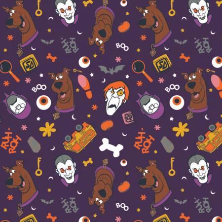 Purple Scooby Doo Monster Toss