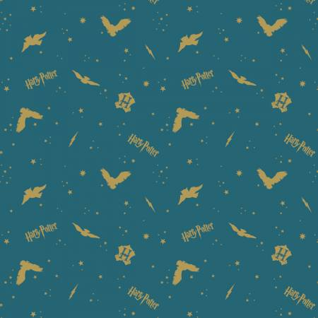 Harry Potter - Teal In the Night Sky Assets w/Metallic Flannel