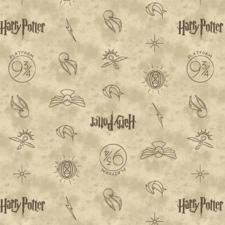 Dark Cream Symbols Harry Potter