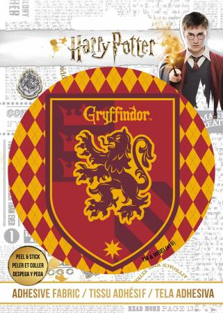 Harry Potter - HP Gryffindor Crest - Adhesive Fabric 3in Badge