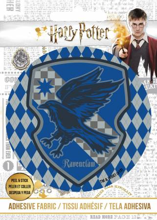 Harry Potter - HP Ravenclaw Crest - Adhesive Fabric 3in Badge