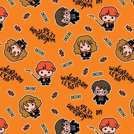 Character Halloween - Orange Harry Potter Hogwarts Halloween