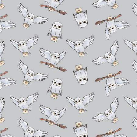 Grey Harry Potter Soft Wash Hedwig