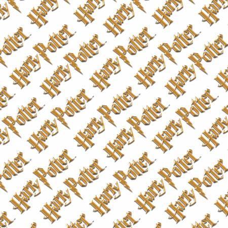 Multi Harry Potter Diagonal Logo Digitally Printed