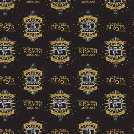 Fantastic Beasts - Black Suitcase & Logo