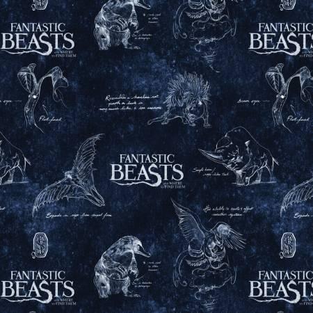 Navy Logo & Creatures Fantastic Beasts