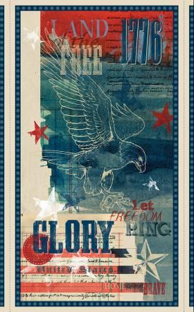 Multi Land of Liberty Large Panel