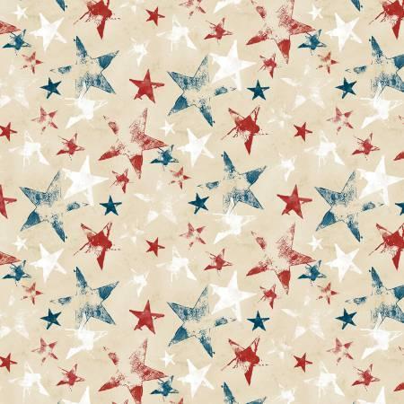 Land of Liberty Tan Stars