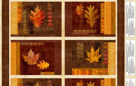 Amber Reflections Placemat Panel - 24 Inches