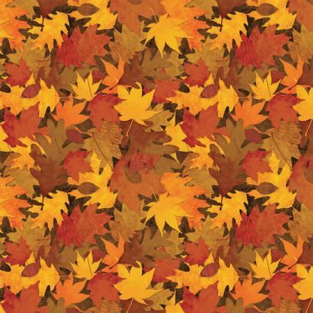 Brown Packed Leaves 24048-253