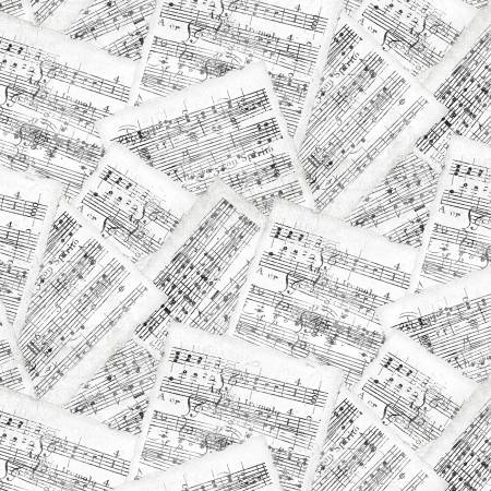 White/Grey Sheet Music