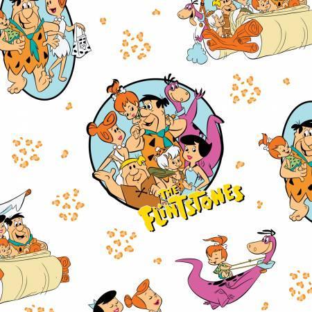 White The Flintstones Stone Age Family