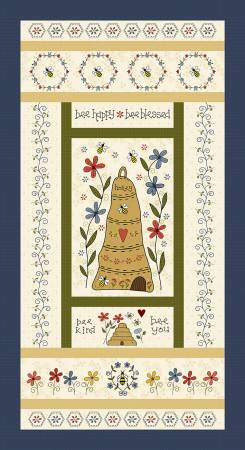 All About the Bees Panel 24in x 44in