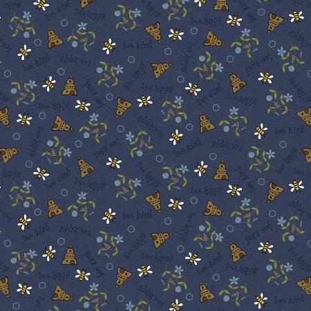 All about the bees - Blue Bees Scattered