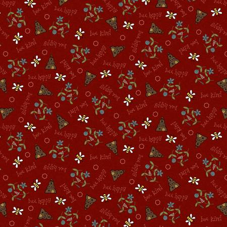 Red - Bee Scatter