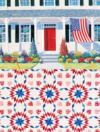 Red White and Blue Puzzle