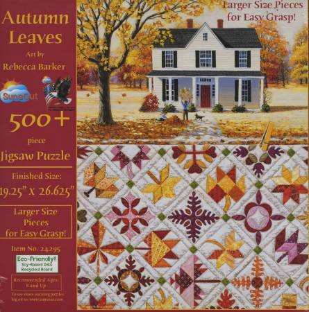 Autumn Leaves Puzzle 500pc