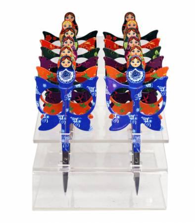 Matriochka Scissors 3-1/2in
