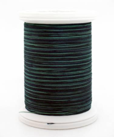 YLI 07V Teals 40wt 500yd Cotton Thread