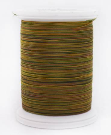 YLI 08V Greens to Tan 40wt 500yd Cotton Thread