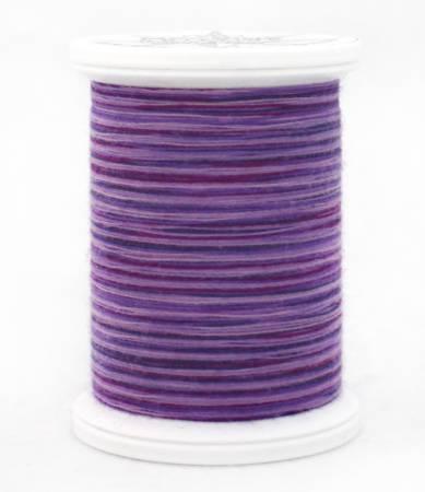 YLI 09V Purples 40wt 500yd Cotton Thread