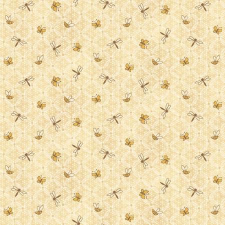 Cream Flower Lattice