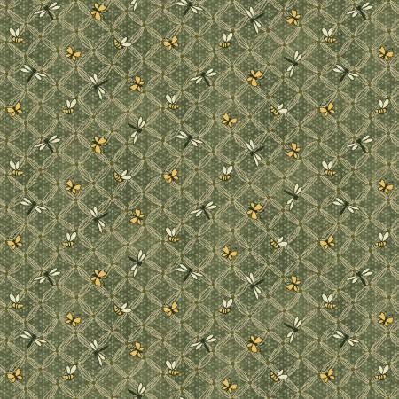 Green Flower Lattice