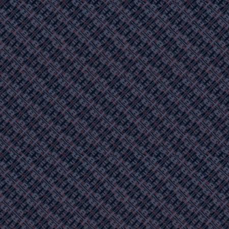Navy Woven Texture
