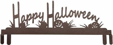 12in Happy Halloween Header Copper