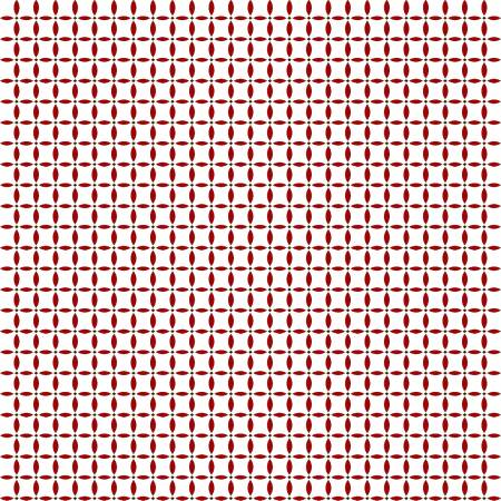 Red and White Geometric Design Circles:  Holly Hill Christmas - Lemoyne Star by Mary Jane Carey of Holly Hill Quilt Designs for Henry Glass and Co.