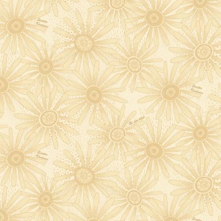 Cream Flower Allover 2501-33