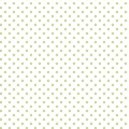 Green/Cream Dots