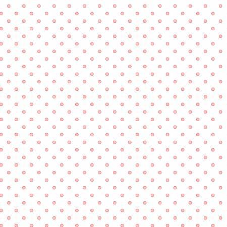 Flannel Basically Hugs Light Pink Dots