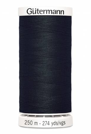 Sew-all Polyester All Purpose Thread 250m/273yds Black